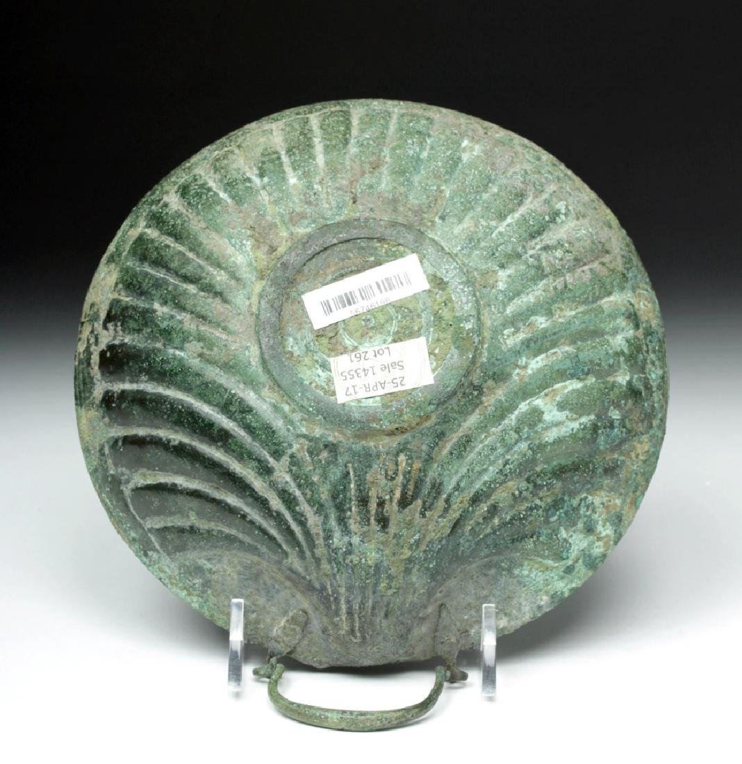Published Roman Bronze Shell-Shaped Dish, ex-Sotheby's - 6