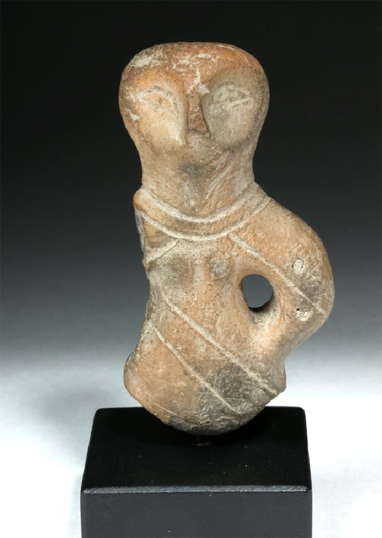 Neolithic Turdas Vinca Pottery Standing Goddess