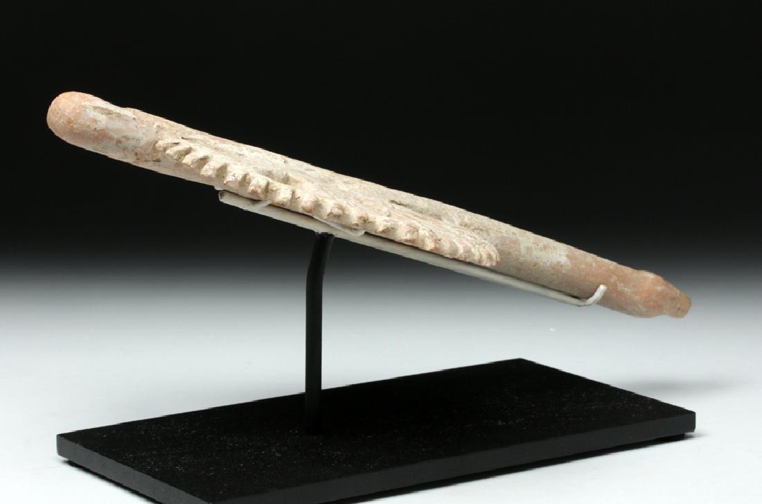 Intricate Veracruz Openwork Ceramic Flute - Playable! - 4