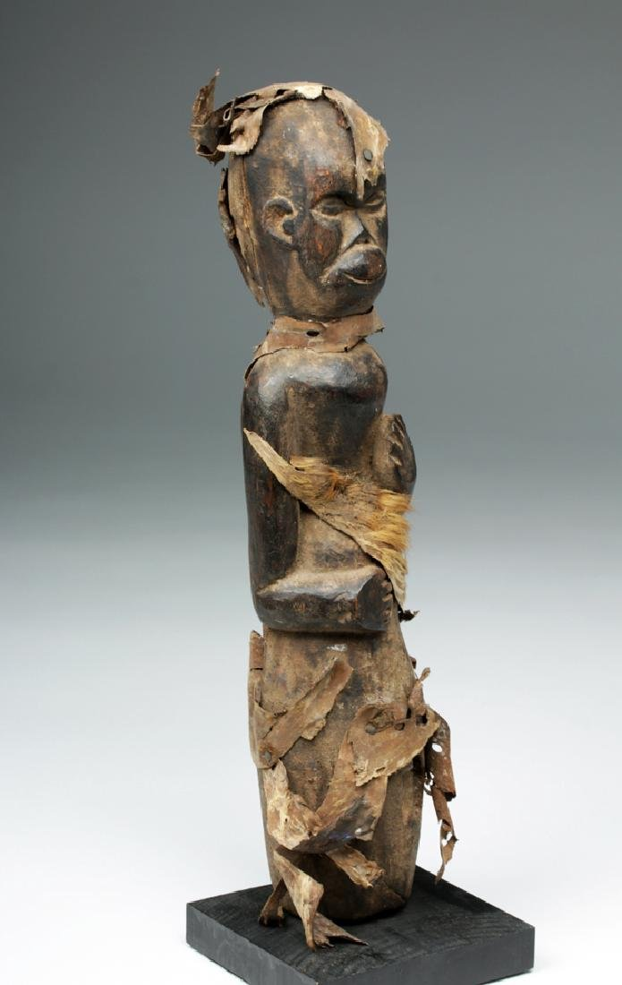 Cameroon Wood Carved Healing Figure - 5