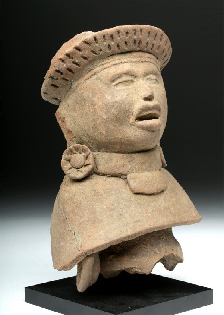 Veracruz Pottery Bust of a Lord