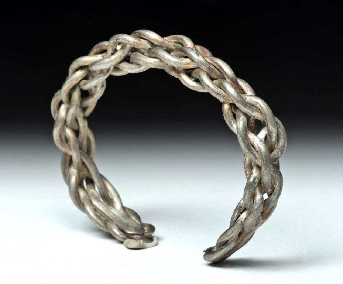 Choice Viking Braided Silver Bracelet - 45.6 grams