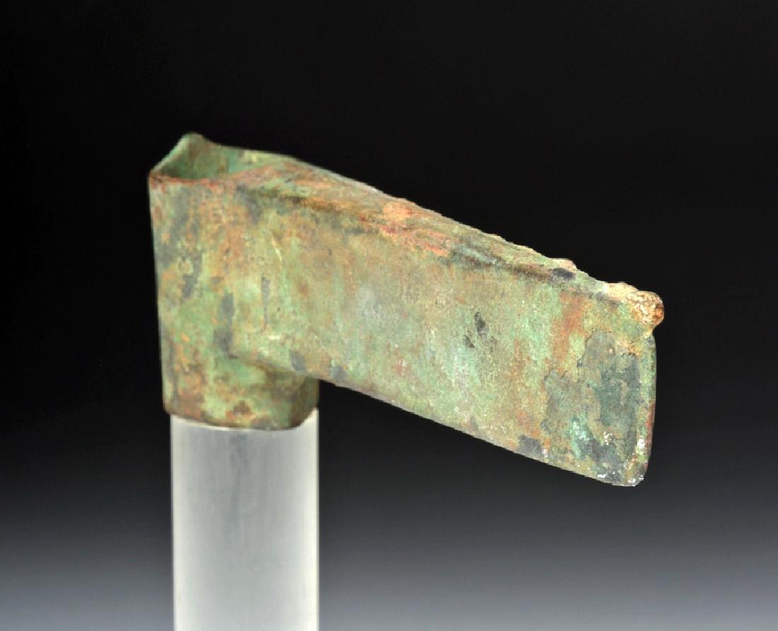 Central Asian Bronze Axe Head - Ex Arte Primitivo