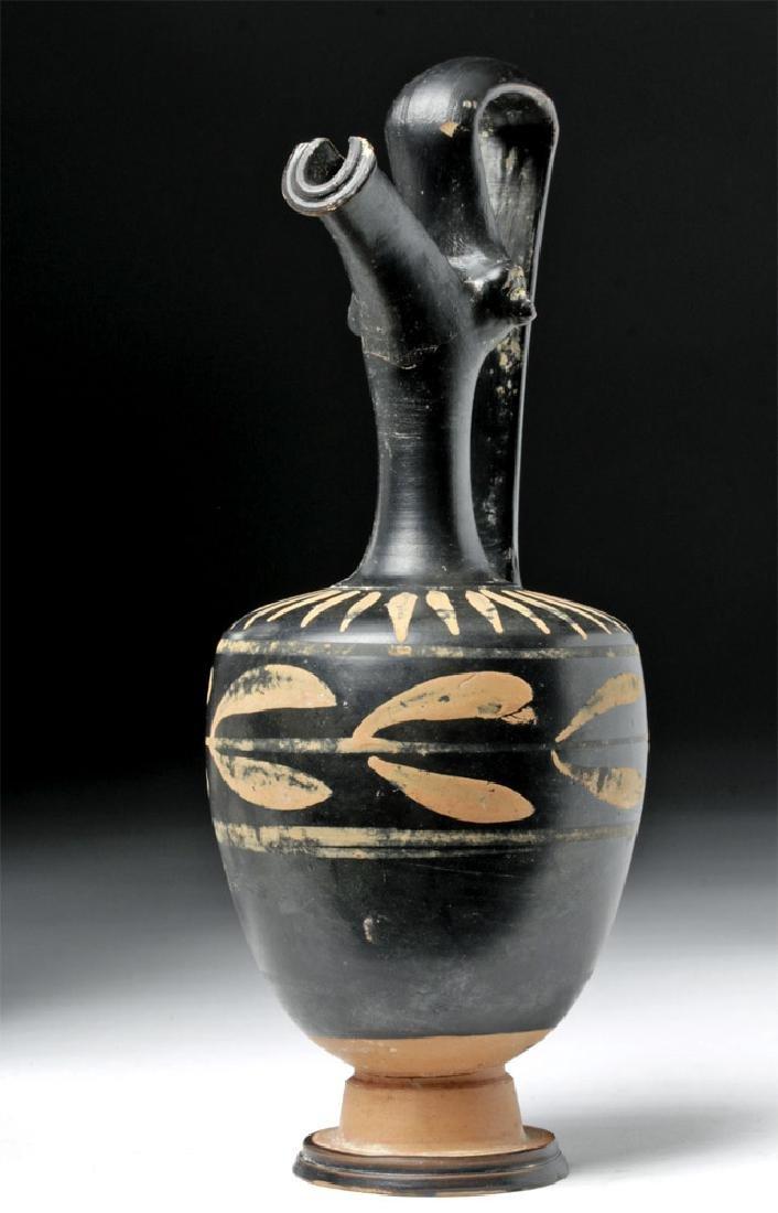 Greek Ceramic Xenon Ware Ewer