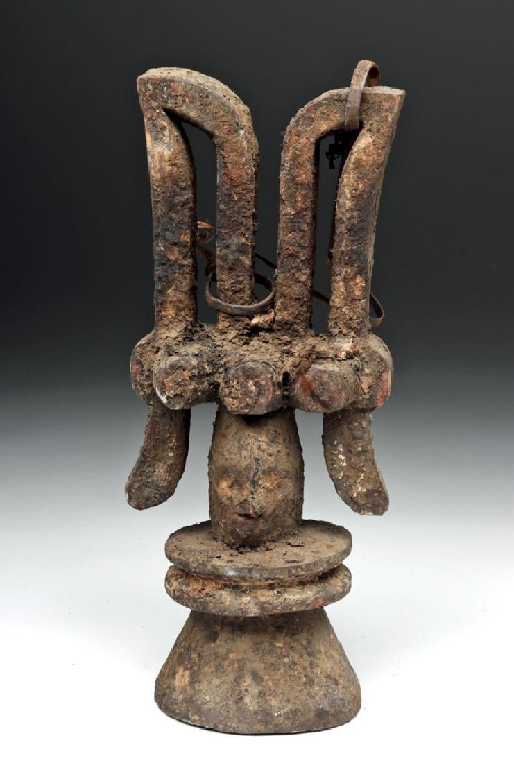 Early 20th C. African Igbo Wooden Ikenga Figure