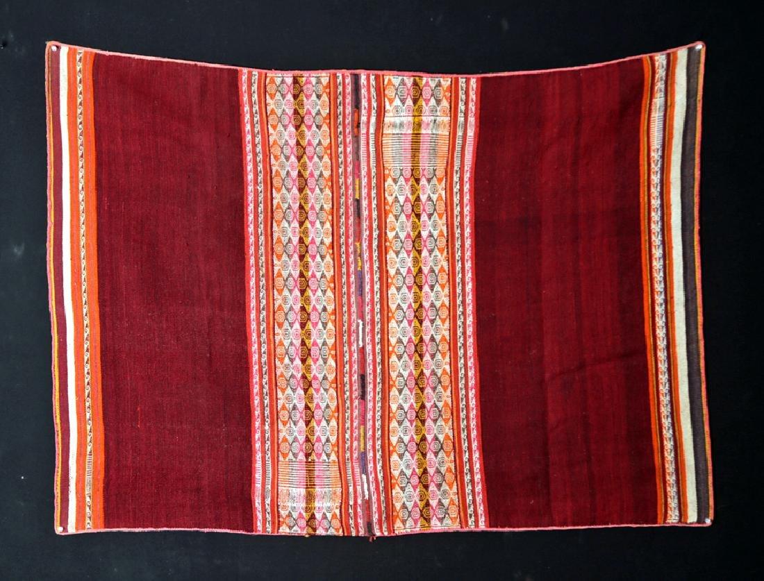 Early 20th C. Bolivian Aymara Textile Blanket