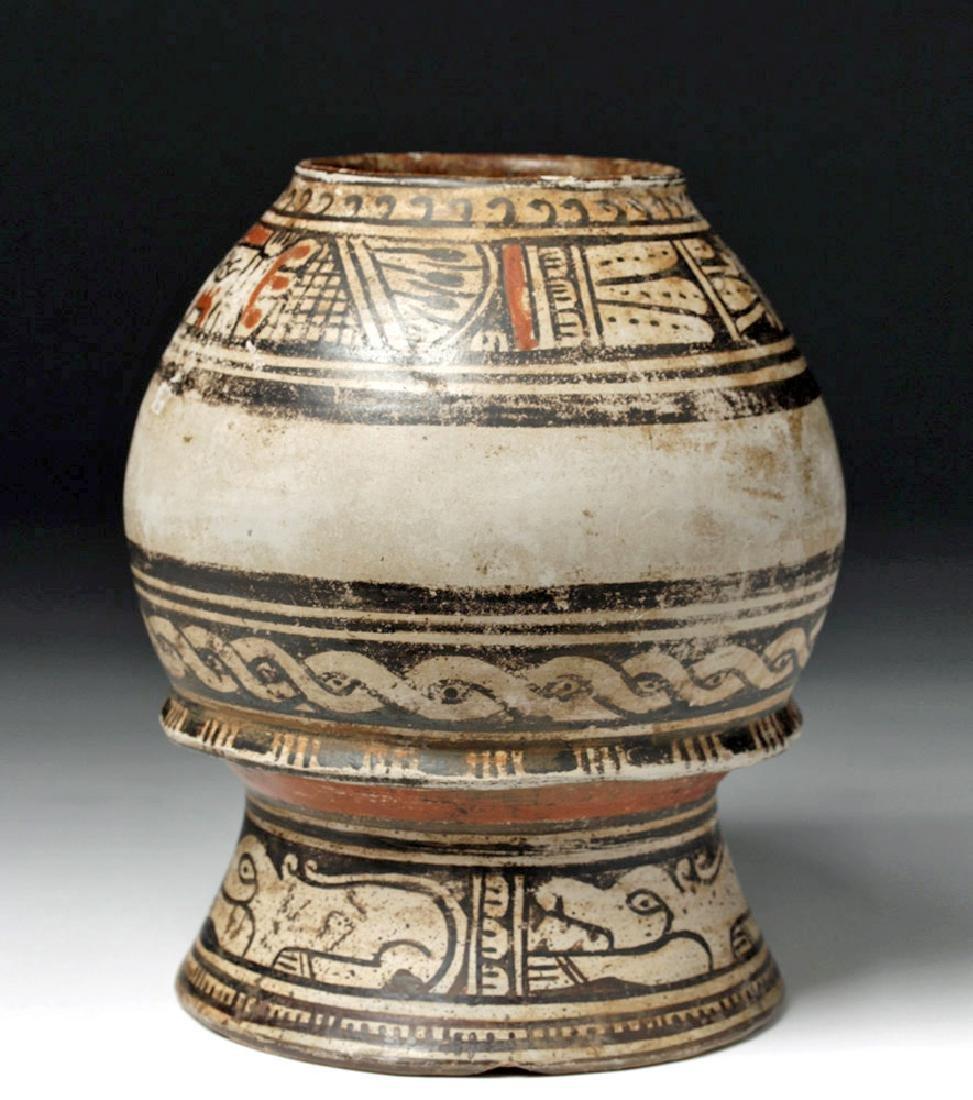 Nicoya Pottery Polychrome Olla - Vallejo Style