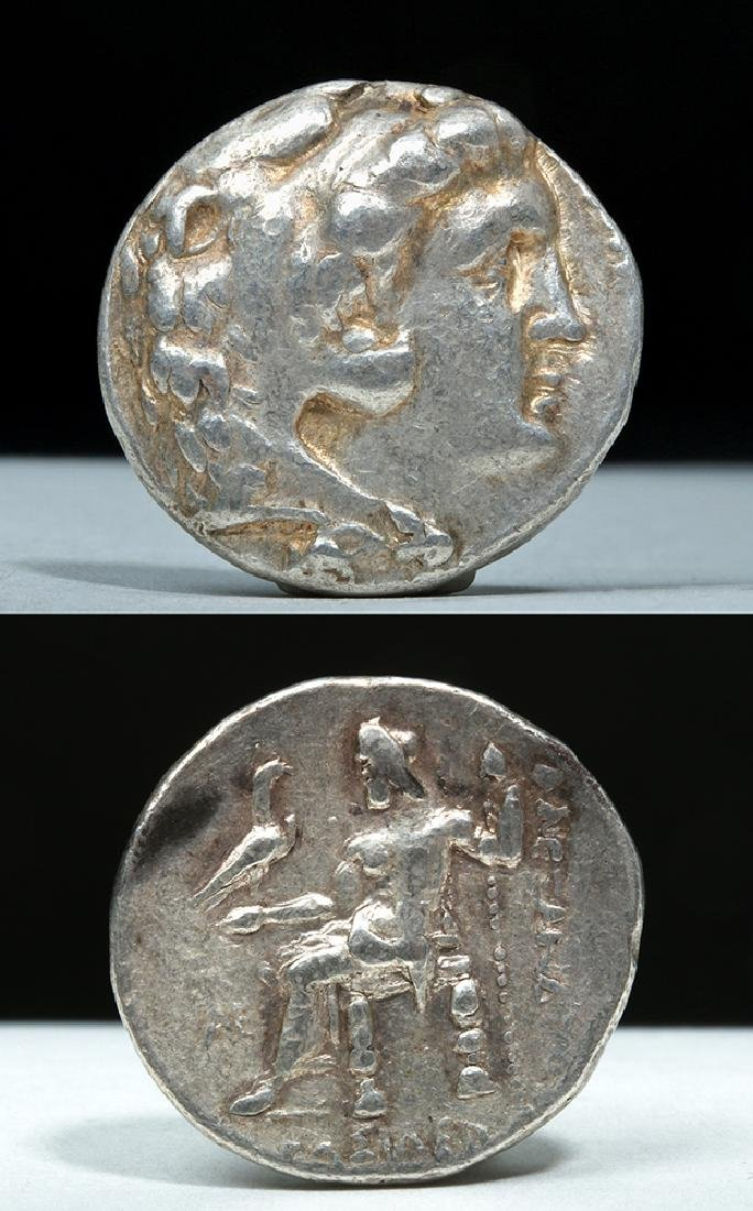 Greek Alexander the Great AR Silver Tetradrachm