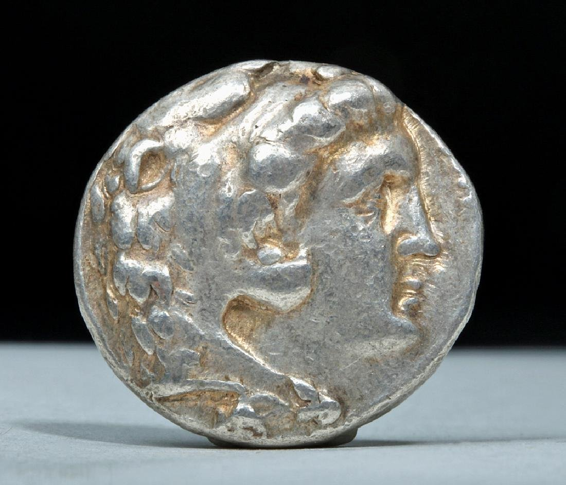Greek Alexander the Great AR Silver Tetradrachm - 2