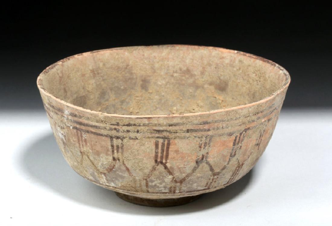 Indus Valley Bi-Chrome Pottery Bowl