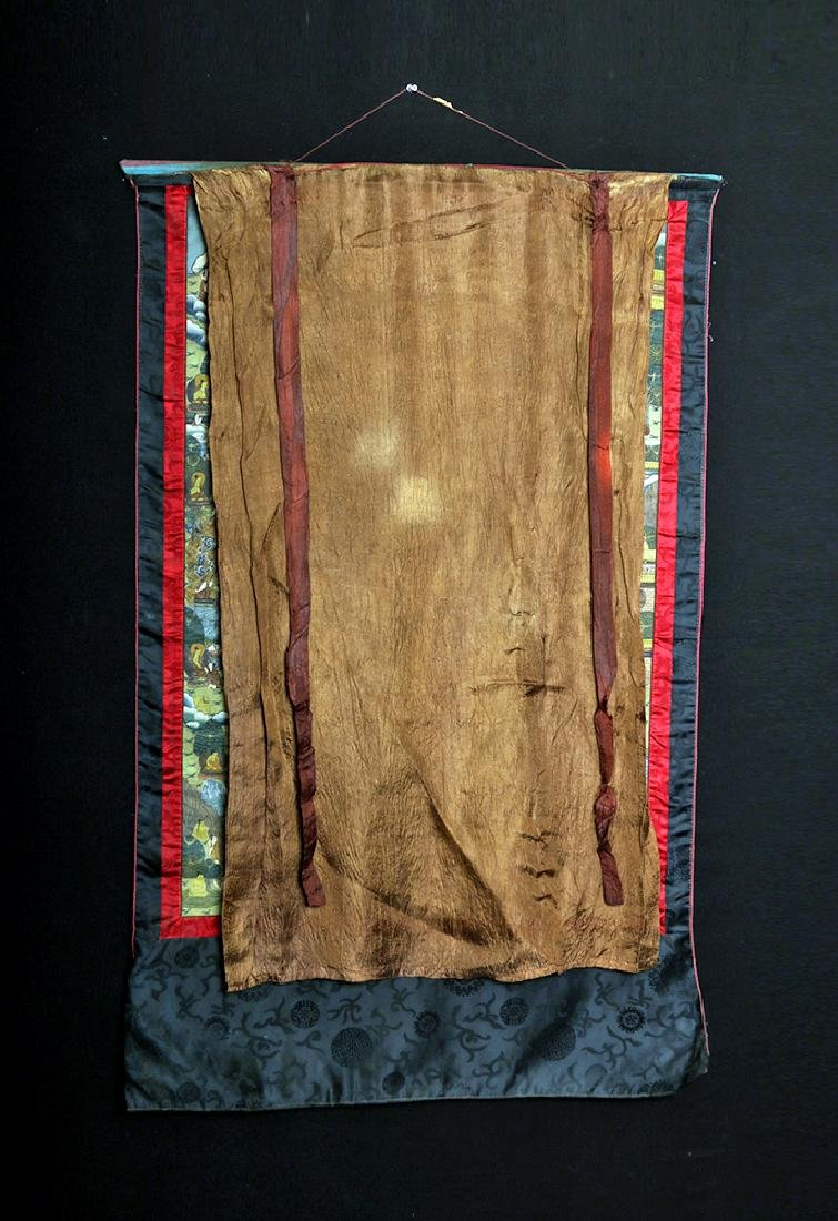 Early 20th C. Tibetan Thangka - Life of Buddha - 7