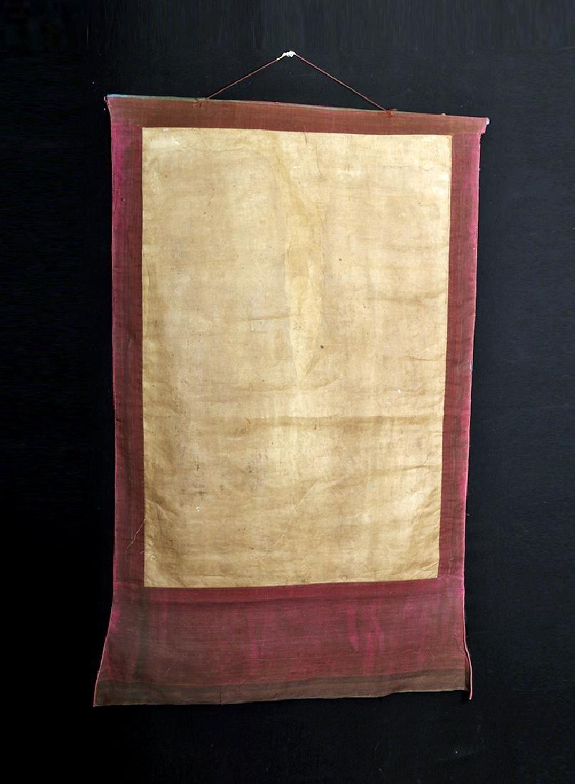 Early 20th C. Tibetan Thangka - Life of Buddha - 8