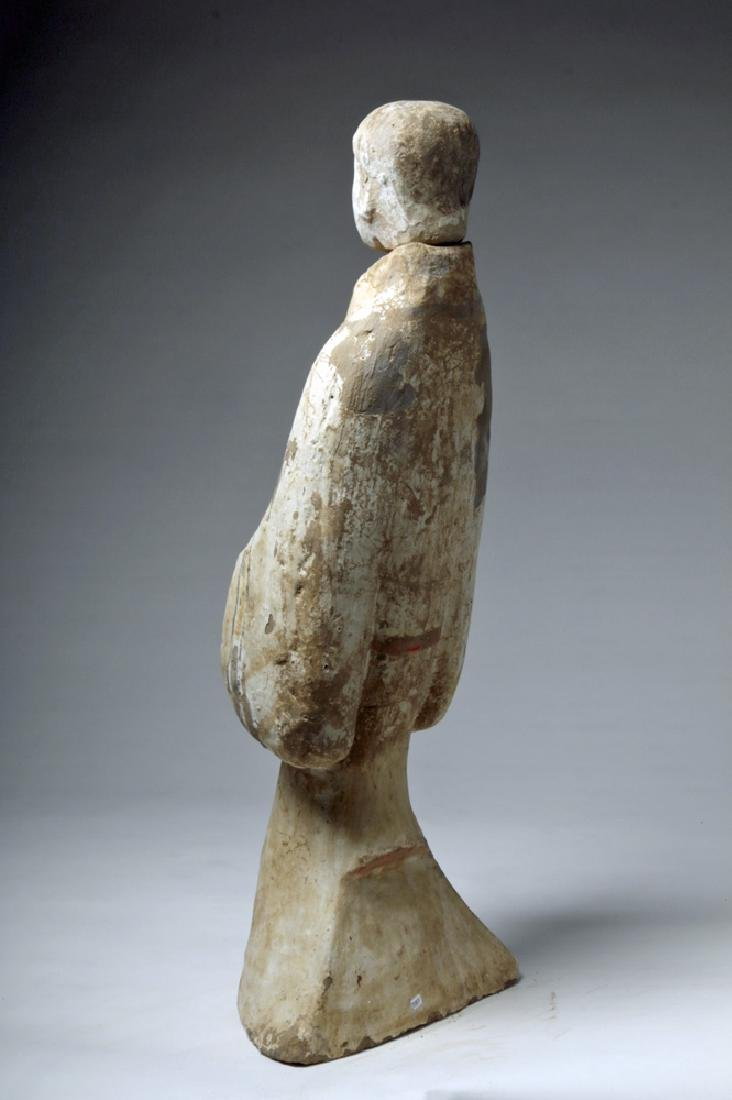 """Chinese Han Dynasty Female Tomb Attendant - 29""""H - 2"""