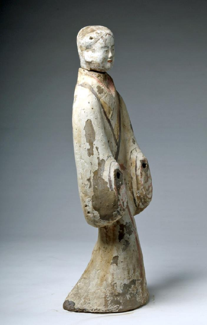 """Chinese Han Dynasty Female Tomb Attendant - 29""""H - 4"""
