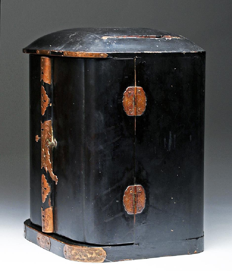 19th C. Japanese Gilded / Lacquered Wood Shrine - 8