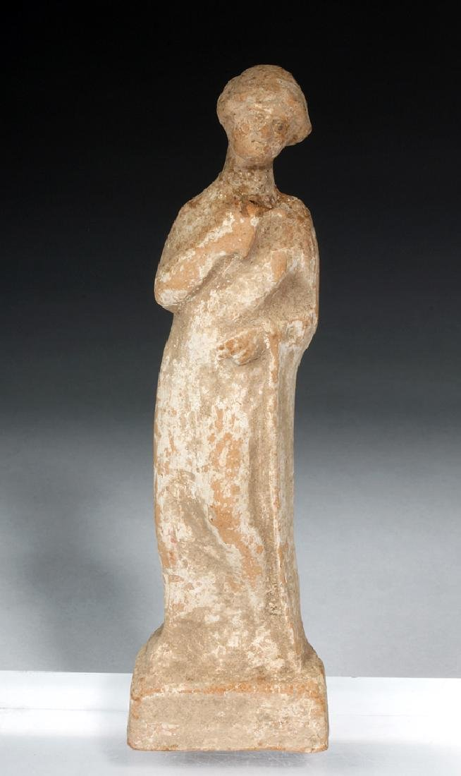 Hellenistic Greek Pottery Standing Goddess