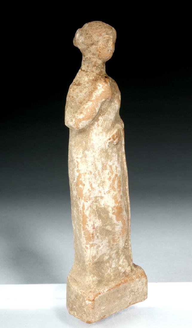 Hellenistic Greek Pottery Standing Goddess - 2