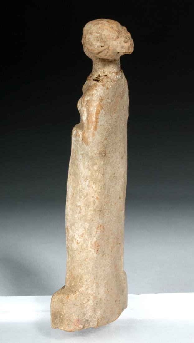 Hellenistic Greek Pottery Standing Goddess - 4