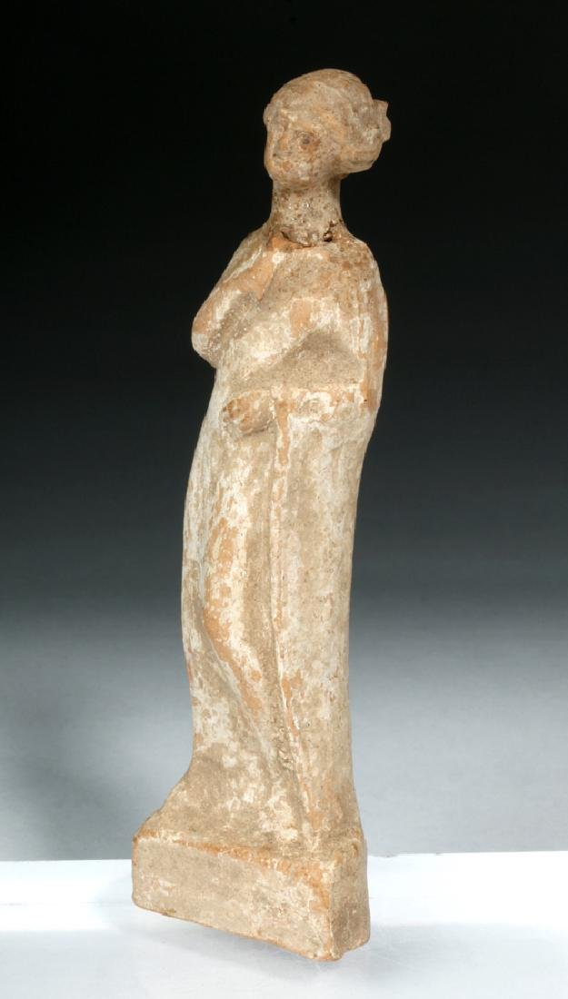 Hellenistic Greek Pottery Standing Goddess - 5
