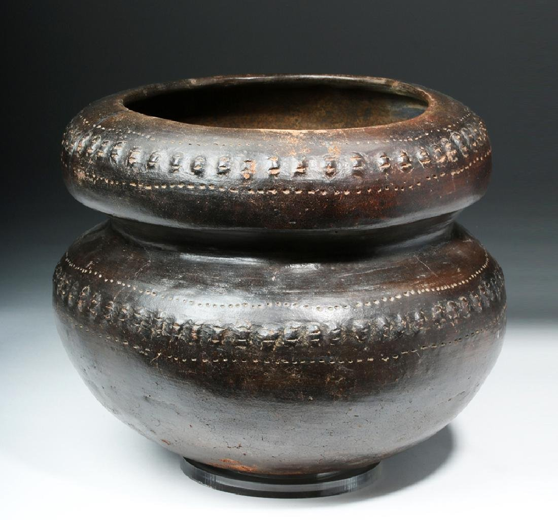 San Agustin / Tierradentro Brownware Vessel