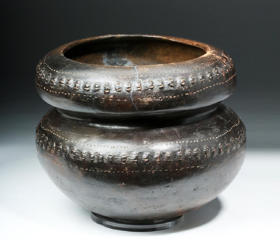 San Agustin / Tierradentro Brownware Vessel - 2