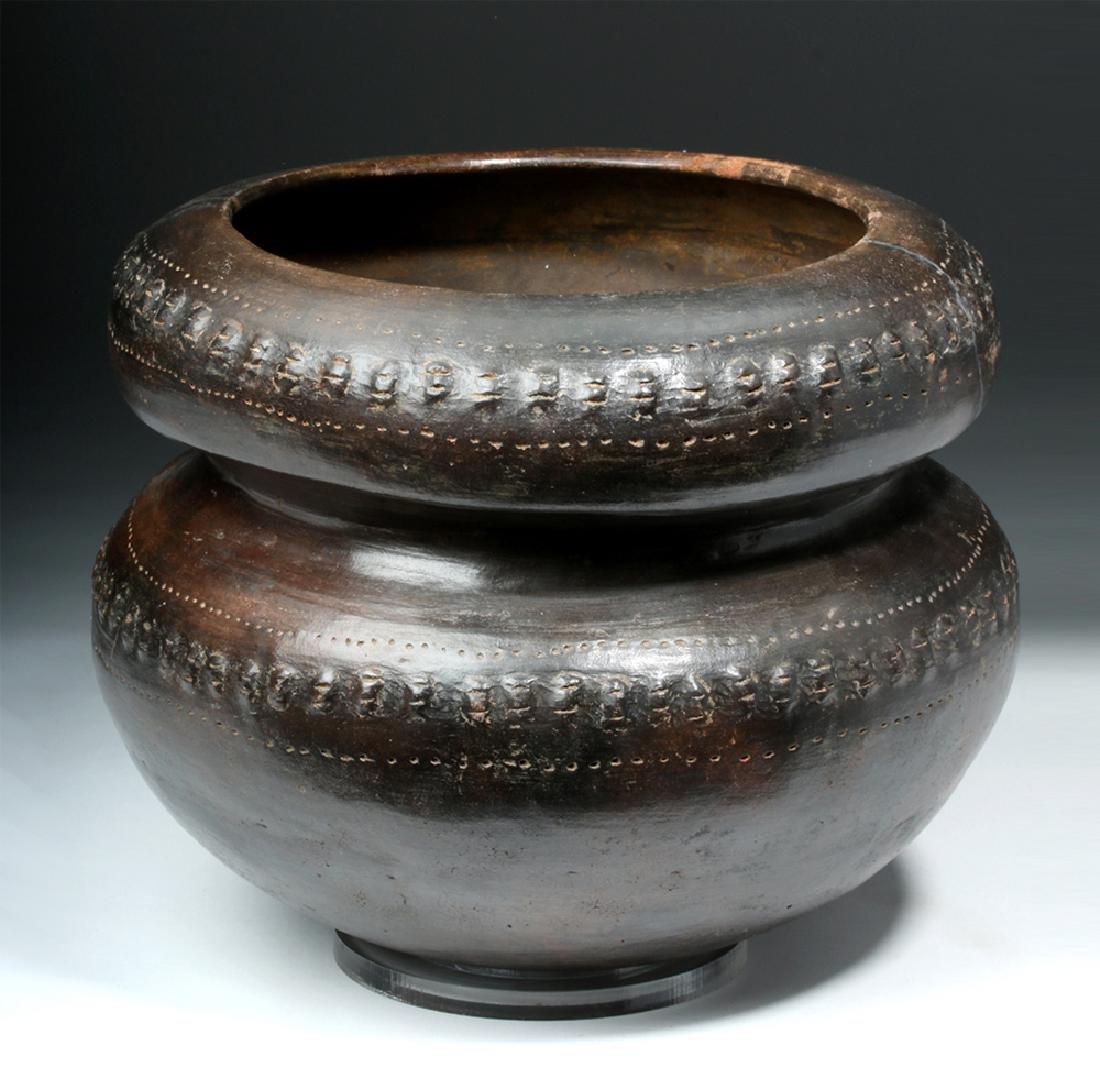 San Agustin / Tierradentro Brownware Vessel - 3