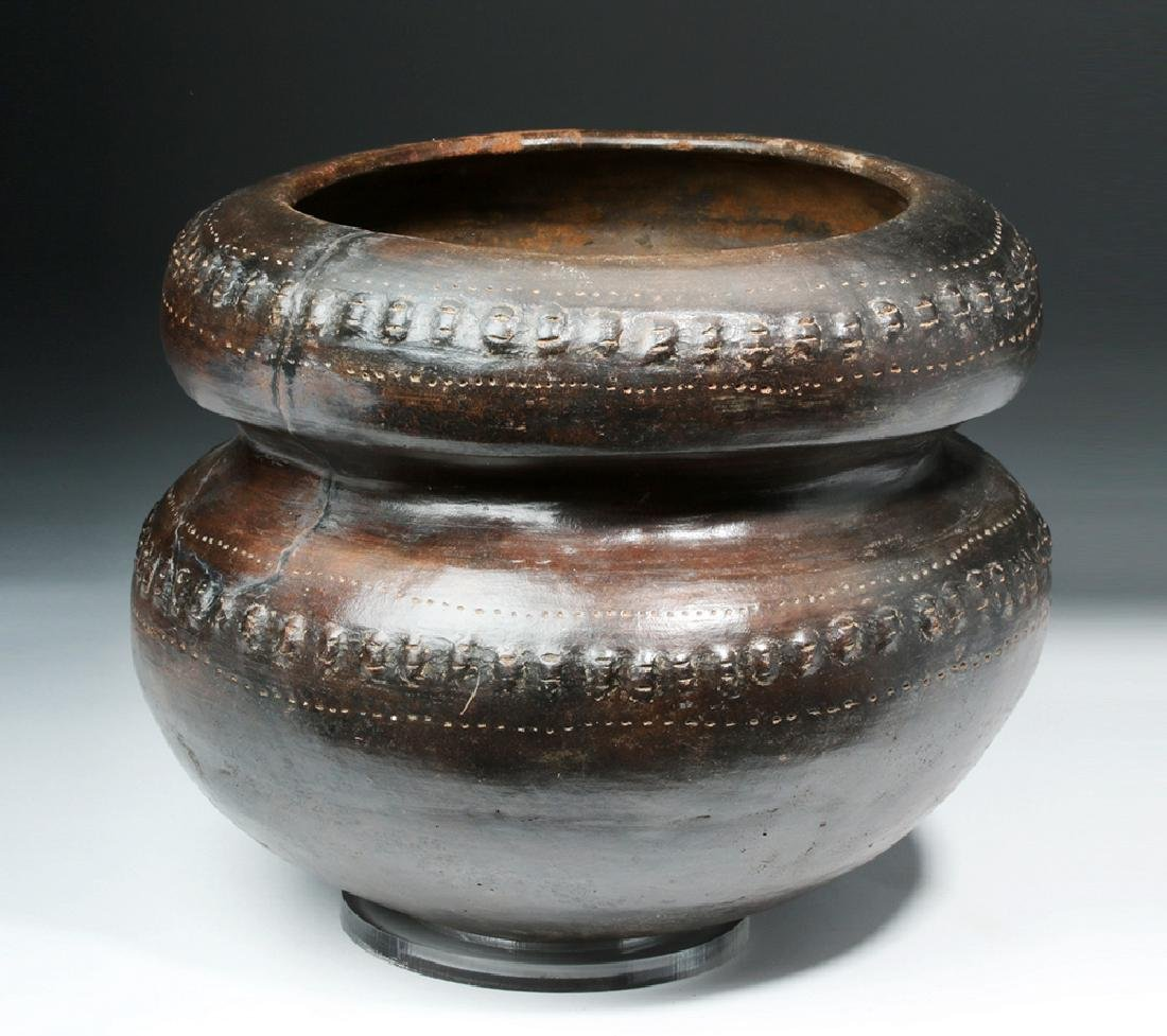 San Agustin / Tierradentro Brownware Vessel - 4