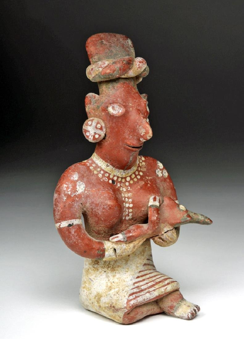Jalisco Bichrome Sheepface Figure - Mother & Child