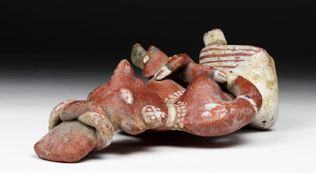 Jalisco Bichrome Sheepface Figure - Mother & Child - 7