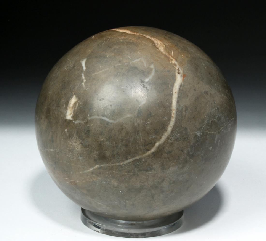 Rare Taino Stone Spherolith / Ball