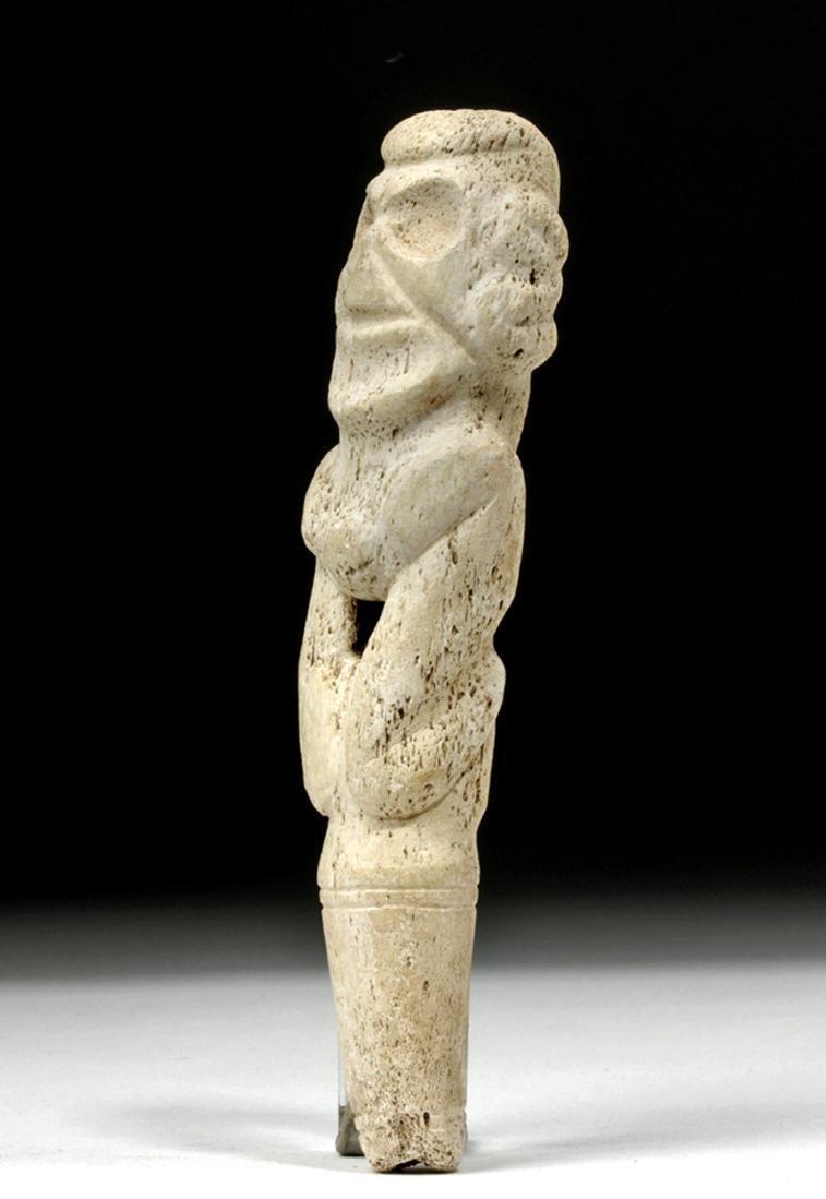 Taino Bone Pendant in Zemi Form - 2
