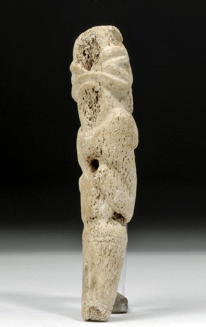 Taino Bone Pendant in Zemi Form - 3
