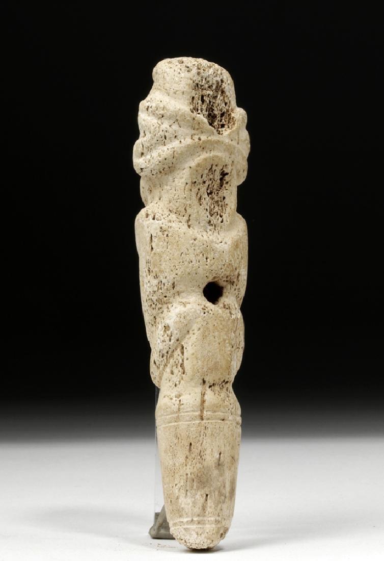 Taino Bone Pendant in Zemi Form - 4