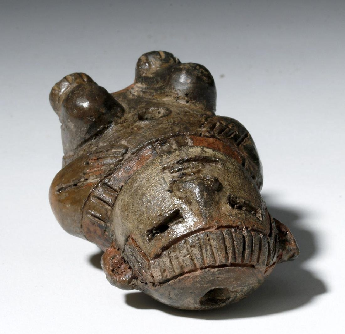 Miniature Chavin Tembladera Seated Figure - 5