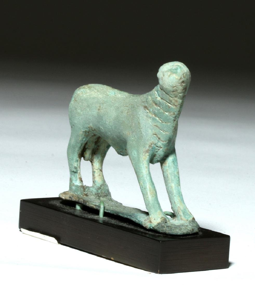 Near-Miniature Greek Bronze Votive - Calf - 2