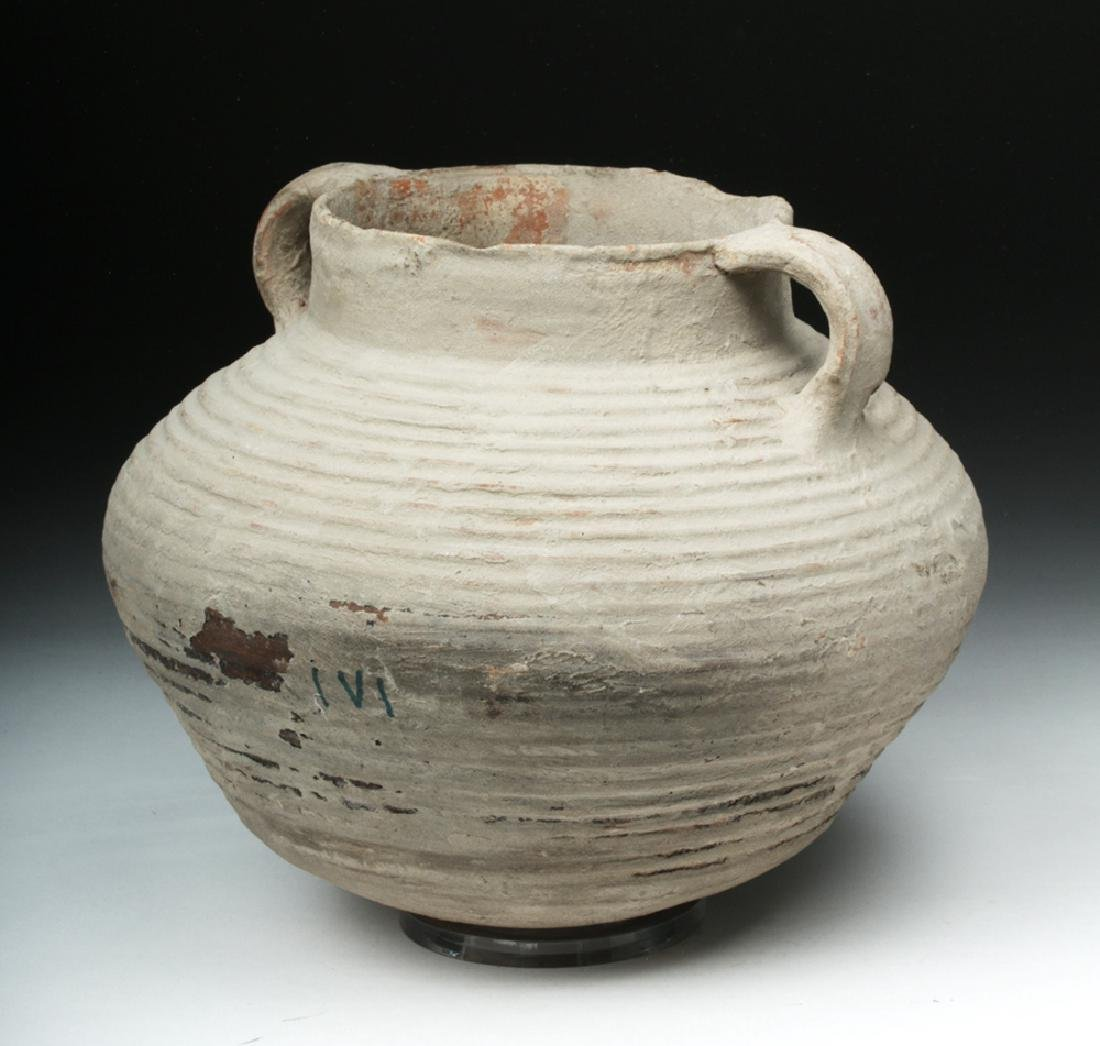 Roman Holyland Pottery Vessel - 4