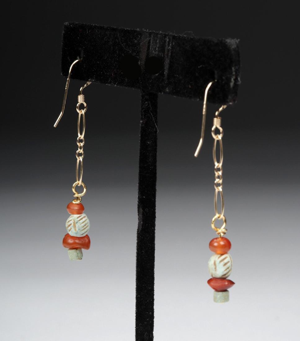 Sumerian Pendant Necklace & Earrings - 6