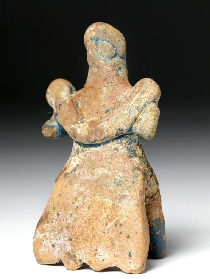 Syro-Hittite Terracotta Idol of Female / Goddess - 4