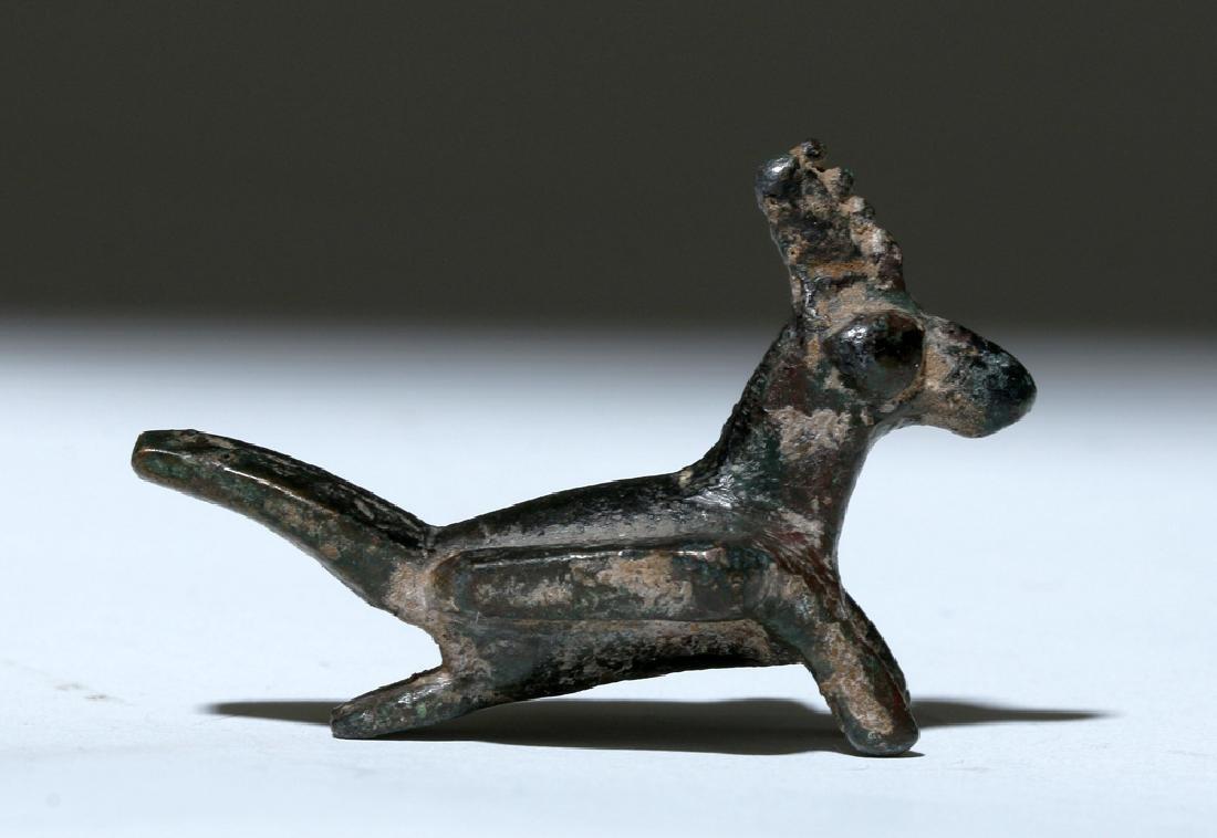 Ancient Seljuk / Seljuq Bronze Bird Figurine - 3