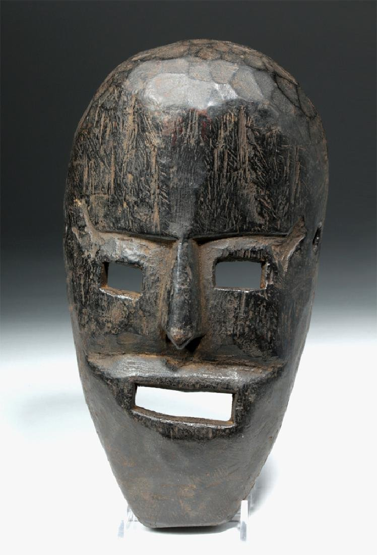 19th C. Nepalese Wood Festival Mask