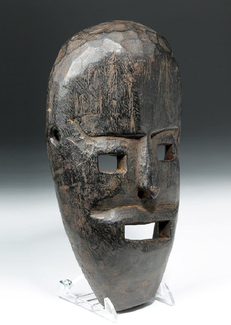 19th C. Nepalese Wood Festival Mask - 3
