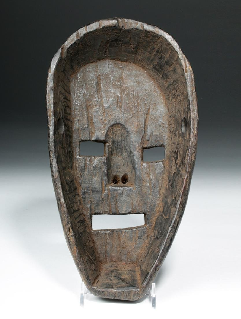 19th C. Nepalese Wood Festival Mask - 4