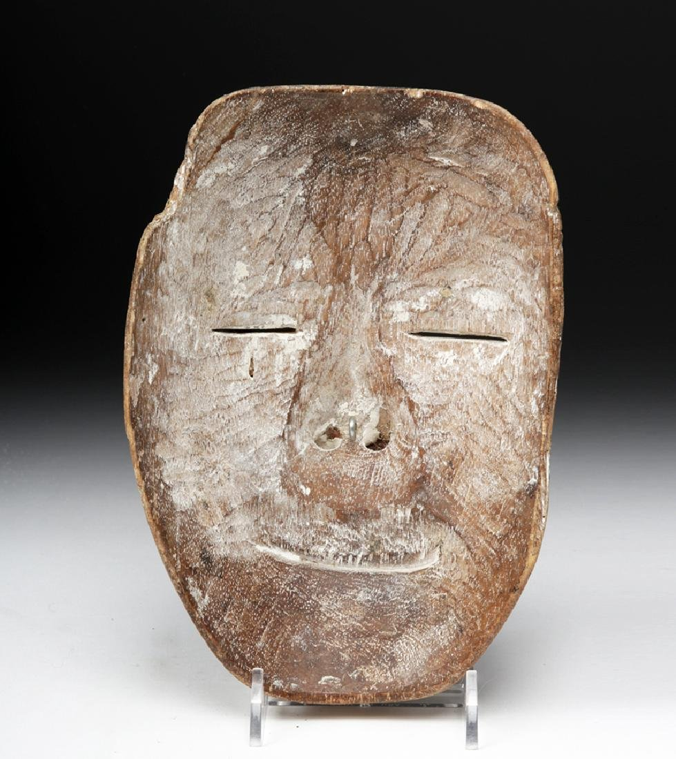 Early 20th C. Indonesian / Balinese Wood Festival Mask - 4