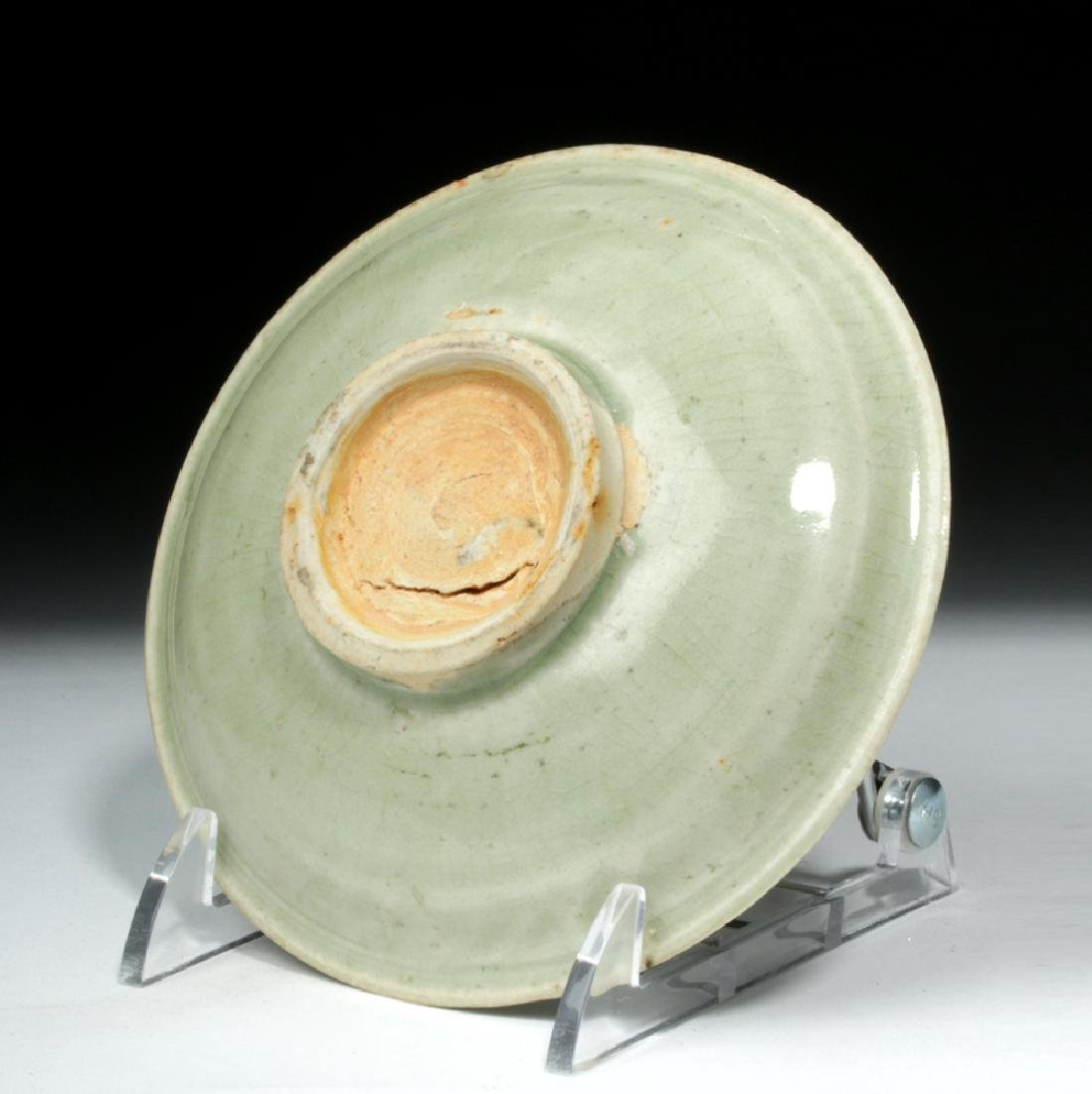Chinese Song Dynasty Celadon Glaze Saucer - 2