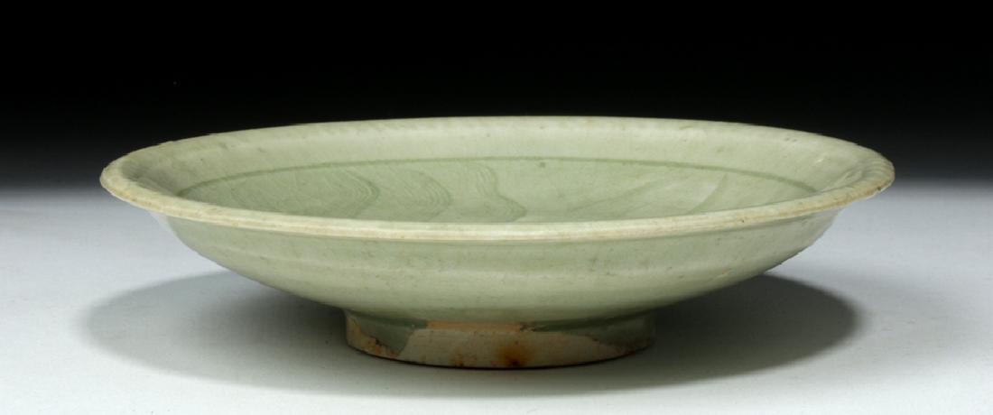 Chinese Song Dynasty Celadon Glaze Saucer - 3