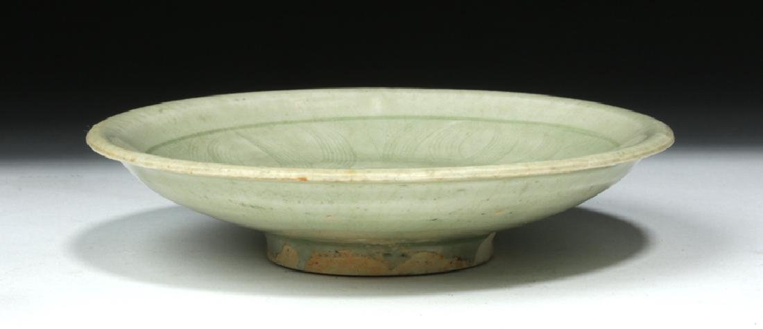 Chinese Song Dynasty Celadon Glaze Saucer - 4