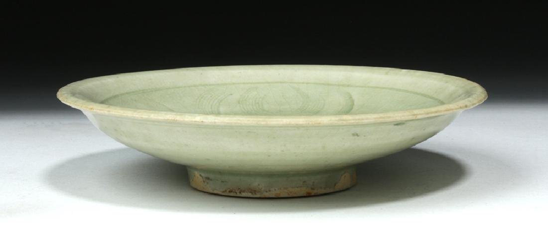 Chinese Song Dynasty Celadon Glaze Saucer - 5