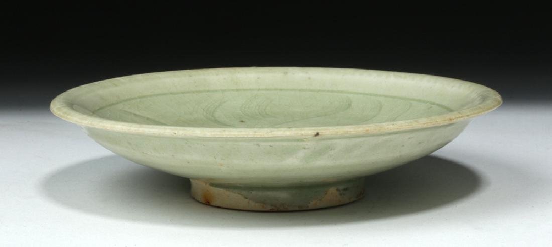 Chinese Song Dynasty Celadon Glaze Saucer - 6