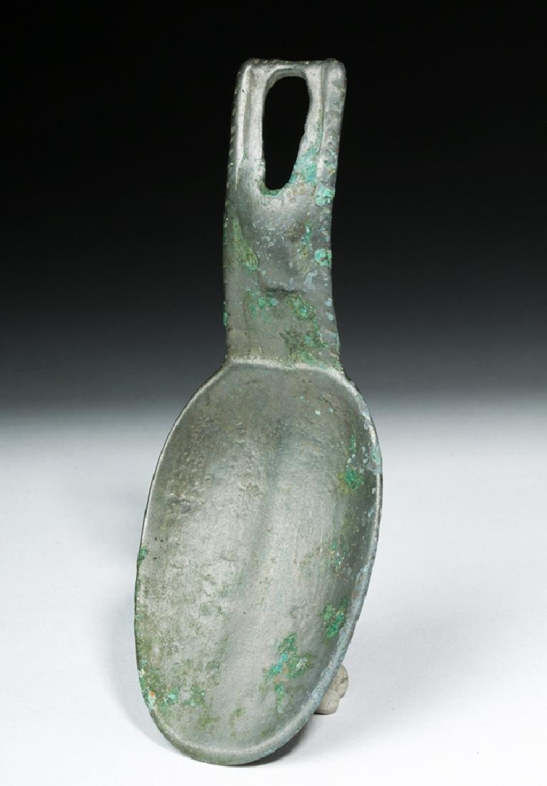 Proto-Viking / Russian Bronze Spoon - Animal Head - 3