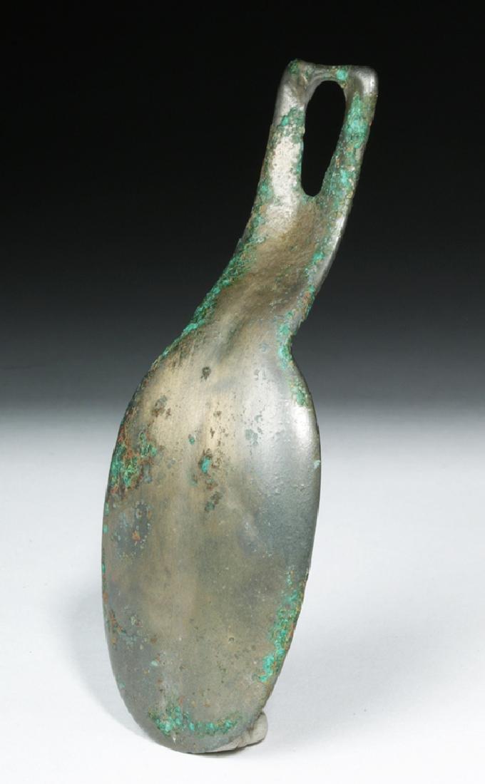 Proto-Viking / Russian Bronze Spoon - Animal Head - 5